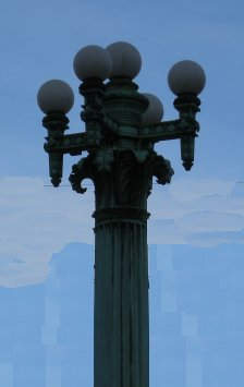 59th Street Bridge Lamp Post