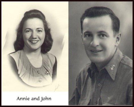 Annie and John