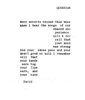 Concrete Poem