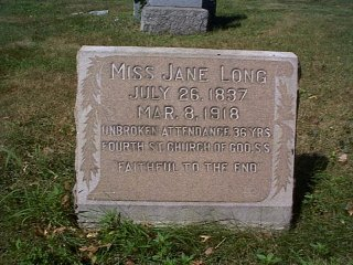 Miss Jane Long